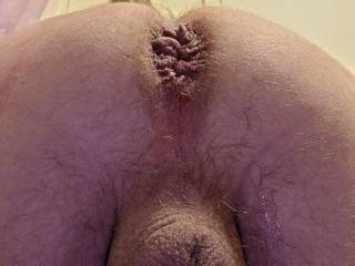 Shortly after a long dildo fucking session...