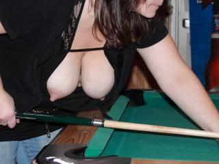 Seems like a fun way to play pool!!