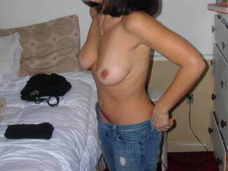 she has a hot hard sexy body i can see why you need to fuck her before work