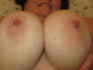 Yes,because they are huge! They need a huge load of cum now! Can I volunteer mine?