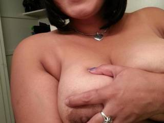 big tits big smile