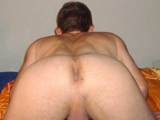 GREAT FUCKABLE ASS !!! At first i will suck your cock, then your ass and stick my cock deep inside you, while you fuck your wife !!!