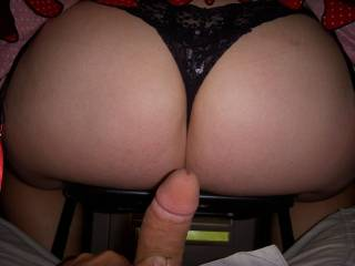 Getting ready to slide my dick into Jen\'s sweet pussy.
