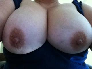 I would love to feel those titties wraped around my hard cock...
