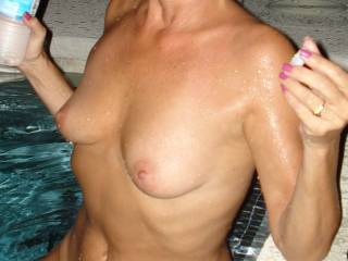 Thank you for the friend add. I'm so happy to see those extra pics from you... You are just amazing. A true goddess. Still so damn desirable at 60 ;)