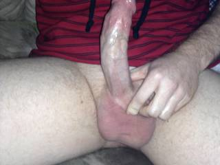 Wow ..would love that big cock to stretch out my tight little holes