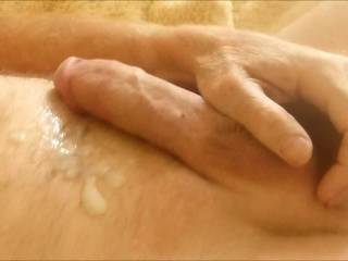 Excellent performance. Excellent to see you stroking your great cock. Love all the hot cream you made !  Sue.xXx