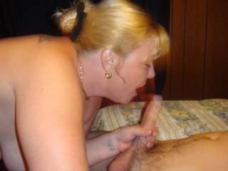 Love the way she worships her cocks...
