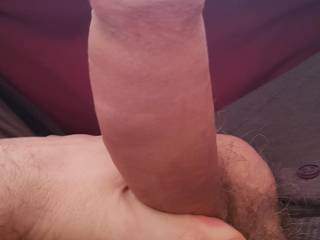 I wish I had a woman here to sit on my cock this morning. Any of you ladies wanna use it?