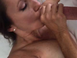 Hot wife jerking me off