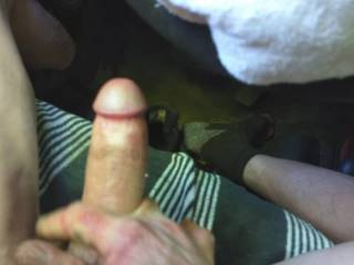Just pulled my cock out of my wife\'s cunt