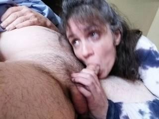This one my husband wasn\'t around.