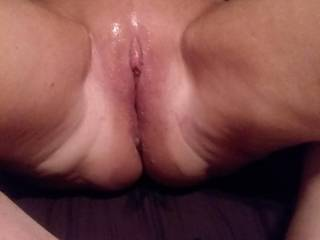 My FWB after a great sex session. Who\'d like a go??