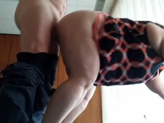 Quicky sex with my beautiful wife