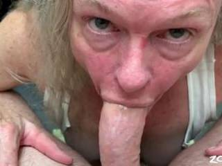 Just loving on one of my favorite cocks. Get him covered in throat spit than slide him into my ass.
