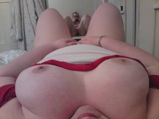 Taken during a very horny session with my hubby