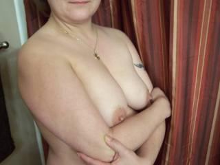 very beautiful and sexy! love her stiff nips!