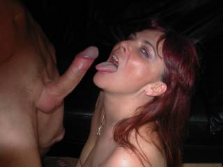 Chrissy loved licking his big cock