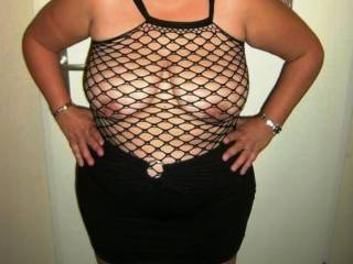 You look great.  So sexy in this fishnet and  your black skirt. I'll be happy to lift your skirt up or all the way down off of you. I can promise you my hands will have you so warm, wet.