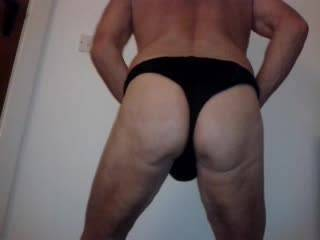 I just love to show off my nicely rounded bottom and cock so that al the horny buggars