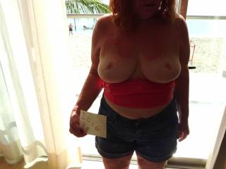 fantastic tits - would love to put my cock in there