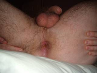 My cock, ball and arse hole for you girls! come tell me what you think?