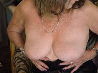 very nice tits I'd love to suck on them mmm