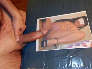 I\'d love to slide my hard cock deep inside your pussy