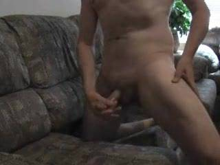 When I need to stroke my hard cock I'm not bashful about it!