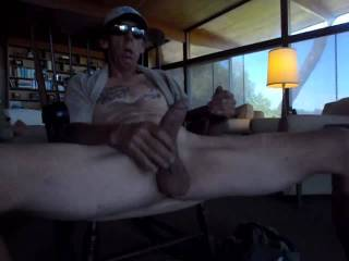 I enjoy stroking my cock
