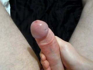 I get so horny here I just had to grab my hard cock and start stroking, Hear me moan as I cum hard