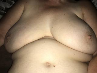The wife's big tits