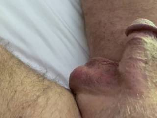I just love watching Mr. F doing his morning Kegel exercises with a flaccid cock.  Should I hurry and give him a blowjob before he gets even bigger?  From Mrs. Floridaman