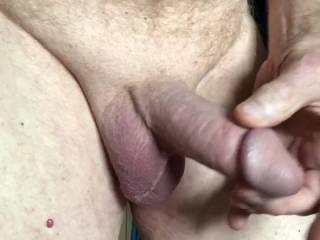 Masturbating for Crissy.