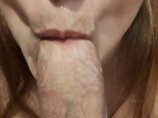 Ohh... That feeling as your woman sucks every bit of your cum because she wants it all. Look at those loving lips drain that thick cock! And, isn't it gorgeous to see all that cum around her mouth?