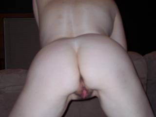 you can tell by how pink her pussy is with a slight gape there inbetween her cuntlips, that she is READY for cock!