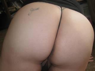 I'd love to let my man cum on your ass!!! I'd wanna lick it off tho..