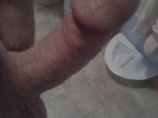 a night of naughty texting, wife asked for a pic of my hard cock.  waiting on the pic of her sweet pussy. will post when i received