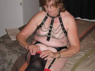 mmm, what a turn on..  love your hot n sensual lingerie...You look great hunni,love the figure too.xxx  Slurps,licks n kisses xxxx