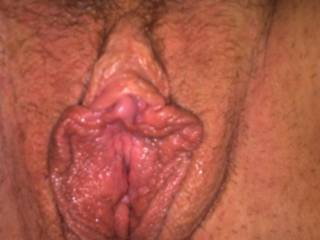 Dam now that's some sweet hot wet tight tasty looking pussy I like ride that pussy and fill her with a thick creamy load of my cum mmmmmm