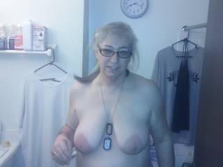 my bbw's big tits