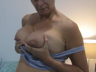Who wants a titty fuck?