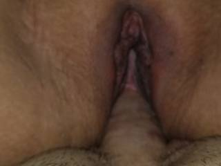 She has fun taking close ups of me being deep in her guys