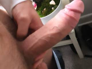 My chunky cock is craving some juicy pussy