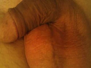 Big balls with a yummy soft cock!  HD