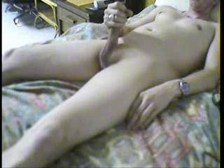 Nice clean cock...needs another hand to cum..