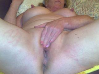 another of my ex girlfriends,, rubbing her pussy while we was away on holiday.