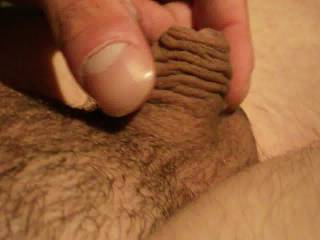 You have a very nice dick and I love the foreskin. It makes me wish I wasn't circumcised.
