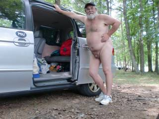 Camping at a nude resort in WV ... nothing like the great outdoors in the nude!