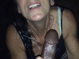 Drained this big black cock......who next????